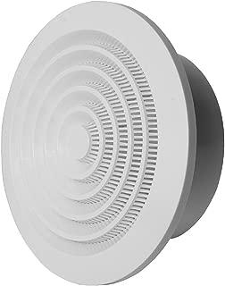/ø 80/mm/ ABS bianco griglia Griglia di ventilazione griglia rotondo /3/inch nga80