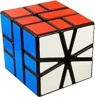 CuberSpeed Mofang Jiaoshi Square-1 Speed Cube Cubing Classroom SQ-1 Black Magic Cube