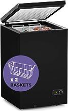 Chest Freezer-3.5 cf Removable Wire Basket Organizer – SOUKOO
