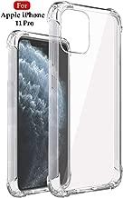 Jkobi Silicon Flexible Shockproof Corner TPU Back Case Cover For Apple iPhone 11 Pro -Transparent