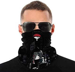Naruto Face Cover Scarf Neck Gaiter Anti-Dust Wind Face Mask Balaclava for Men Women
