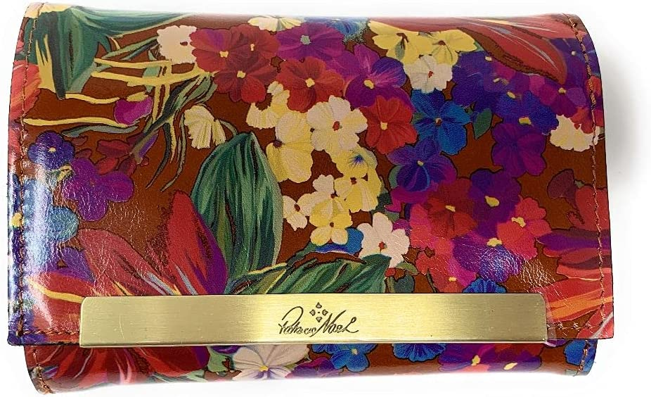 PATRICIA NASHG WOMEN'S CAMETTI TRIFOLD New A surprise price is realized life LEATHER WALLET SUMMER FLO