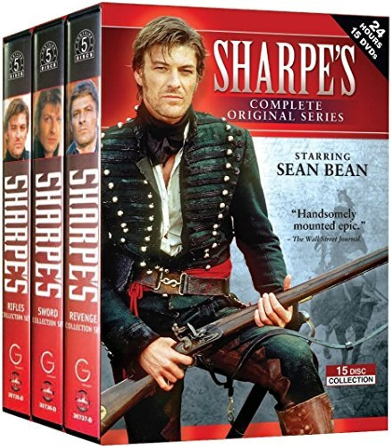 Sharpe's: The Complete Series Collection 15-Disc Box Set