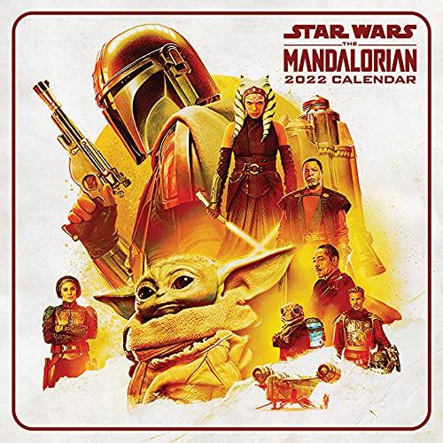 Disney Star Wars Calendrier 2022 – Calendrier familial mensuel 30 x 30 cm – Produit officiel