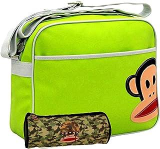 Black//Red Julius Monkey Graffiti School Backpack Paul Frank