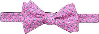 Tommy Hilfiger مردان Flamingo چاپ Self Bow Tie