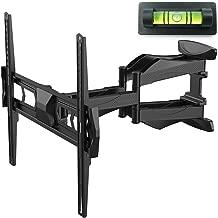 Fleximounts TV Wall Mount Bracket for Most 32-60 Inch Swivel Tilt Full Motion Articulating Long Extension LED LCD Flat Screen VESA 400x400mm