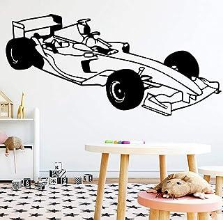 Mignon formule voiture mur art autocollant moderne mur autocollant devis devis pour chambre d'enfants autocollants décorat...