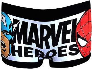 Women's Comics Heroes Spidey and Captain America Boyshort Panty