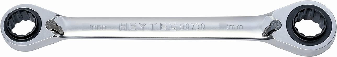 Set 12 chiavi ad anello doppie Heyco//Heytec 50805947080 in scatola di cartone