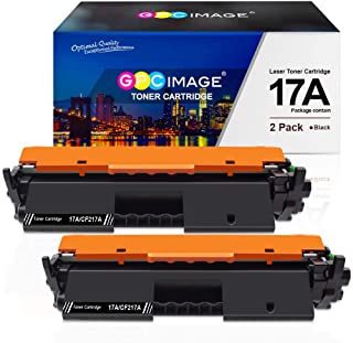Best GPC Image Compatible Toner Cartridge Replacement for HP 17A CF217A Toner to use with Laserjet Pro M102w M130nw M130fw M130fn M102a M130a Laserjet Pro MFP M130 M102 Series Printer (2 Black) Review