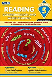 Reading - Comprehension and Word Reading: Lesson Plans, Texts, Comprehension Activities, Word Reading Activities and Asses...