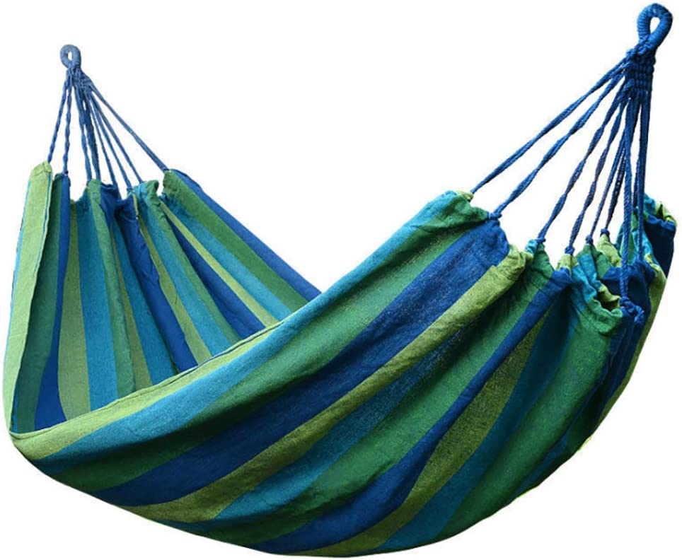 Outdoor Double Hammock Swing Campi Portable 2021 new Thick Ranking TOP10 Canvas