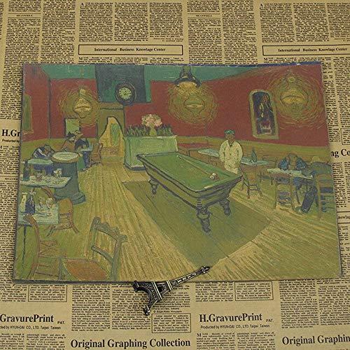 panggedeshoop Van Gogh Sunflower Oil Painting Star Xinghua Poster 40X50Cm -Sz1169