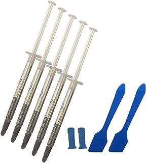 MoneyQiu HY-710>3.14 W/MK 5PCS(1PCS-1g) Pasta Termica/Pasta térmica;Thermal Grease Pasta térmica 'Alta conductividad térmica, Eléctricamente no conductivo