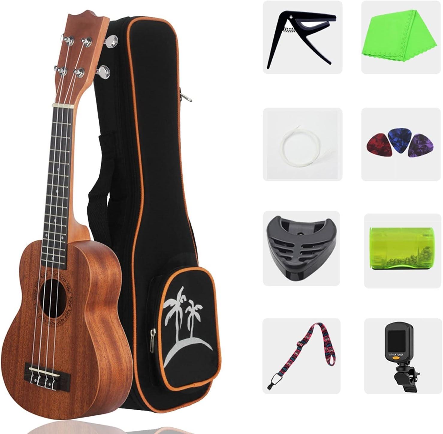 Soprano Ukulele SALENEW very popular! 23 Inch Concert Strings Bag with Strap Max 90% OFF C