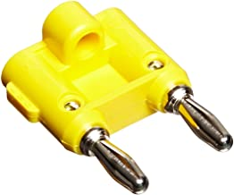 Pomona MDP-4 Double Banana Plug with Wire Guide, Stackable, Solderless, 1.55