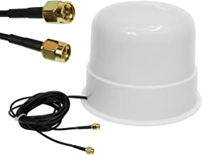 Theta Comunicación Omni Directional 4G 3G LTE MIMO Antena Externa para routers Huawei B310 B593 B880 B315 E5186 B525 B715 D-Link DWR-921 DWR-923 DWR-956 SMA
