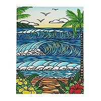 (ヘザーブラウン)HEATHER BROWN アートプリント 絵画 ART PRINT W40.6×H50.8cm Lサイズ縦 サイン入り HB9387P/A DAY IN PARADISE