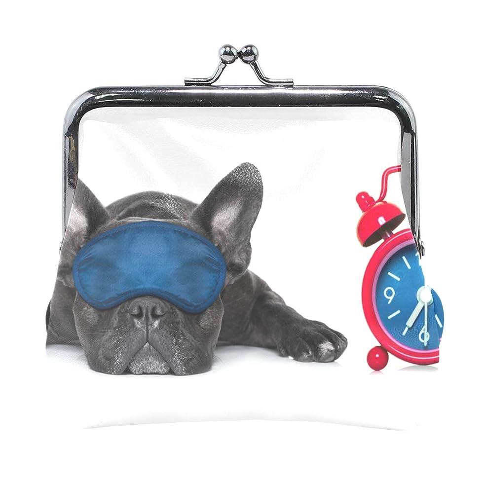 愛人ハンバーガーミニチュアがま口 財布 口金 小銭入れ ポーチ 犬 動物 面白い ANNSIN バッグ かわいい 高級レザー レディース プレゼント ほど良いサイズ