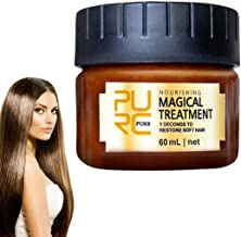 DJDZ Magical Hair Roots Treatment Hydrating & Repairing Hair Mask and Deep Conditioner 5 Seconds Repairs Damage Hair Root Hair Tonic Keratin Hair & Scalp Treatment