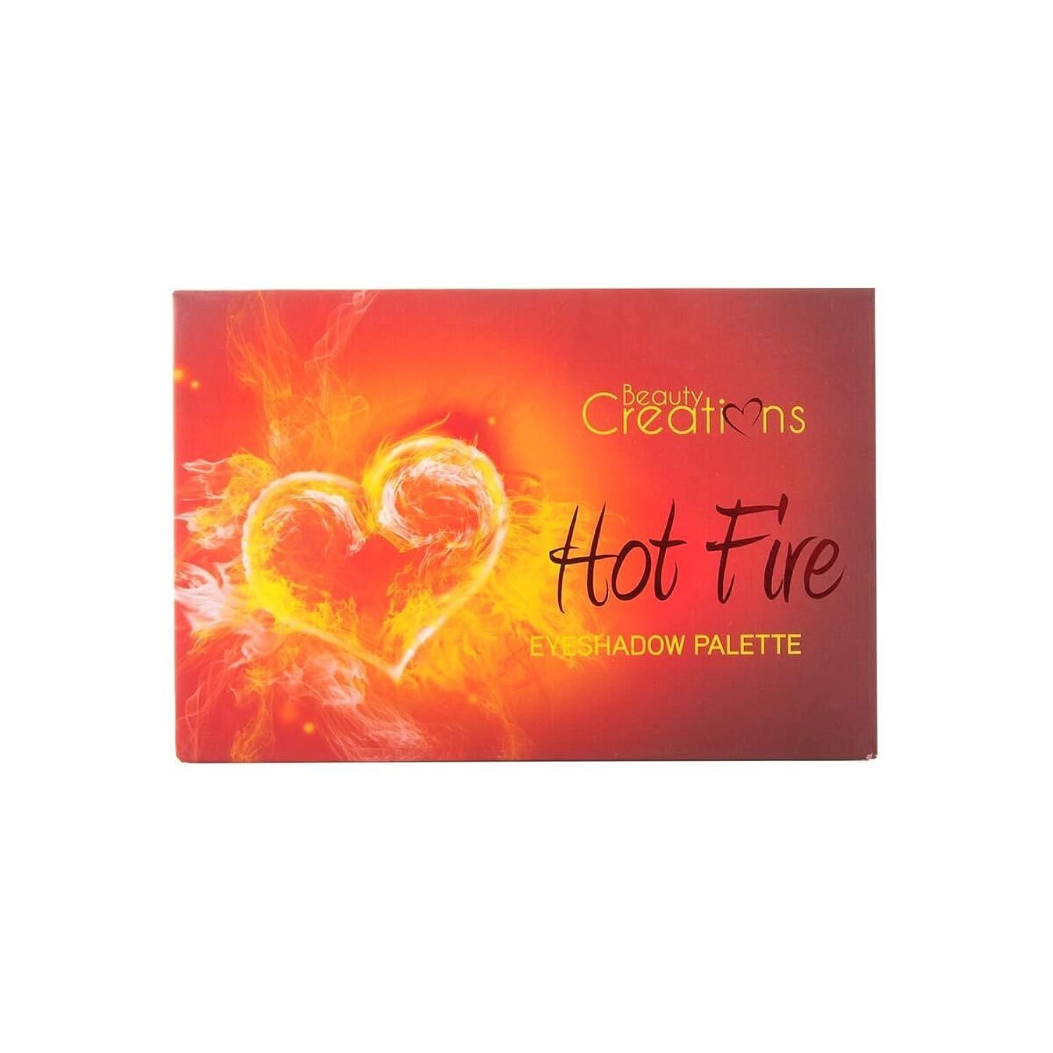 長々と乳砂利BEAUTY CREATIONS Hot Fire Eyeshadow Palette (並行輸入品)