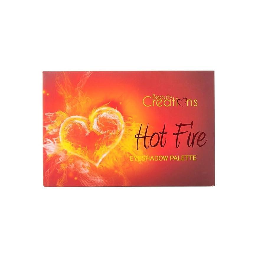 メンバークロール酔っ払いBEAUTY CREATIONS Hot Fire Eyeshadow Palette (並行輸入品)