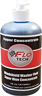 FLO TECH 16OZ MAKES 80GALLON SUPER CONCENTRATE WINDSHIELD WASHER FLUID