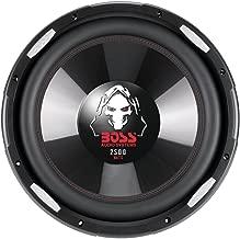BOSS AUDIO P156DVC Phantom15 inch Dual Voice Coil (4 Ohm) 2500-watt Subwoofer