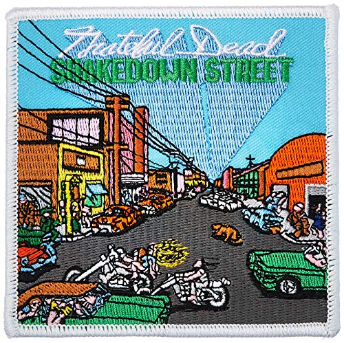 GRATEFUL DEAD Shakedown Street, Officially Licensed Artwork, High Quality Iron-On/Sew-On, 4