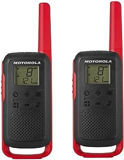 Motorola Talkabout T6PMR Radio de Banda ciudadana (PMR446, 16Canales y 121Códigos, Alcance de 8km), rojo