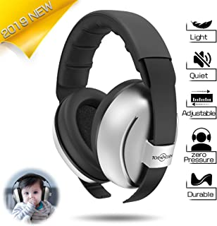 Baby Headphones Baby Ear Protection - Noise Cancelling Headphones for Babies, Toddlers and Infants(Silver)