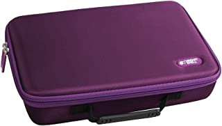 Hermitshell Extra Large Hard EVA Travel Case for C. A. H. Card Game, Fits The Main Game Space for 1950 Cards. - Card Game Sold Separately.