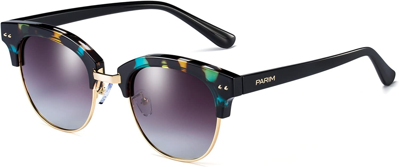 Parim Sunglasses Female Tide Han Edition Round Polarized 11019