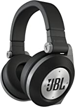 JBL E50BT Black Premium Wireless Over-Ear Bluetooth Stereo Headphone, Black