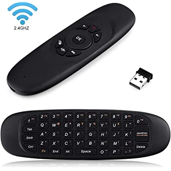 QUEENSUN Air Mouse C120 2.4Ghz Multifunctional Wireless Mini Keyboard and Remote Control for Android TV Box Smart TV G Box HTPC IPTV iOS PS3 Xbox 360