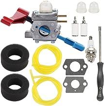 Hayskill C1U-W12A Carburetor w Air Filter Tune Up Kit for Poulan FL1500 FL1500LE Gas Leaf Blower 530071629 Zama C1U-W12B Craftsman 944794201 358794201 Carb