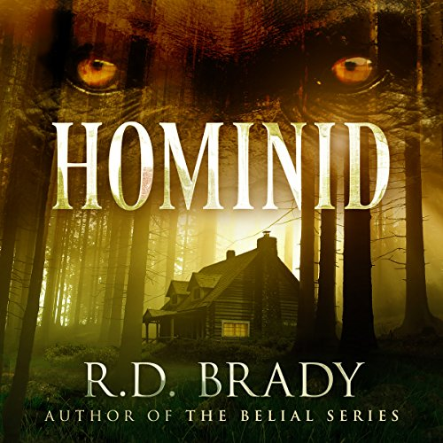 Hominid audiobook cover art