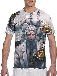 Deku JoJo's Bizarre Adventure Killer Queen 3D Printed Men's Short Sleeved T-Shirt