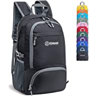 ZOMAKE 30L Lightweight Packable Backpack Water Resistant Hiking Daypack,Small Travel Backpack...