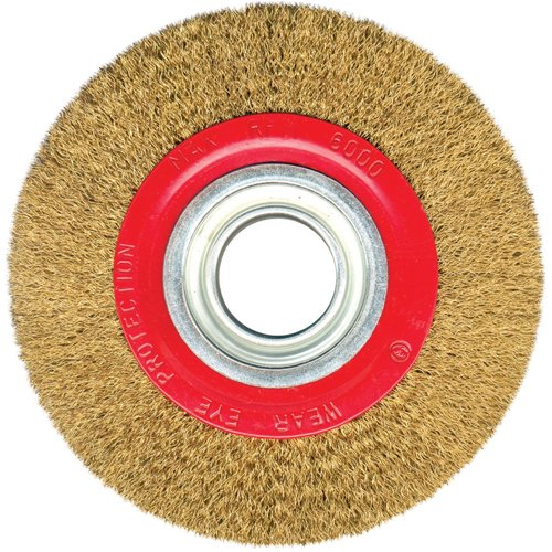 Silverline 427733 - Rueda de acero latonado (125 mm