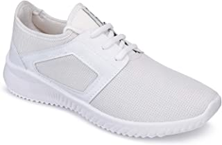 Zenwear Casual Shoes, Lace Up, Snekers Shoes,Canvas Shoes for Men Color-White