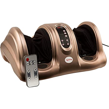 Lifelong LLM72 Foot Massager, Brown (Perfect for Home Use & Pain Relief)