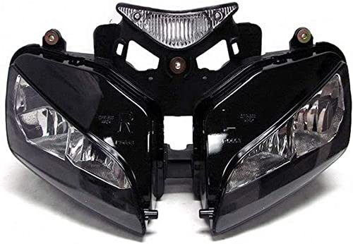 discount Mallofusa Motorcycle Front Headlight Headlamp Assembly Compatible for Honda CBR1000RR outlet online sale outlet online sale 2004 2005 2006 2007 Clear Lens outlet sale