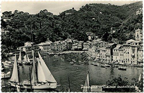 Primi '900 Portofino visione incantevole barche
