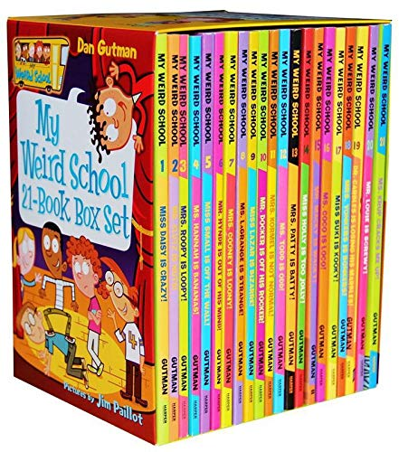 A library of my weird school 21 books collection box set