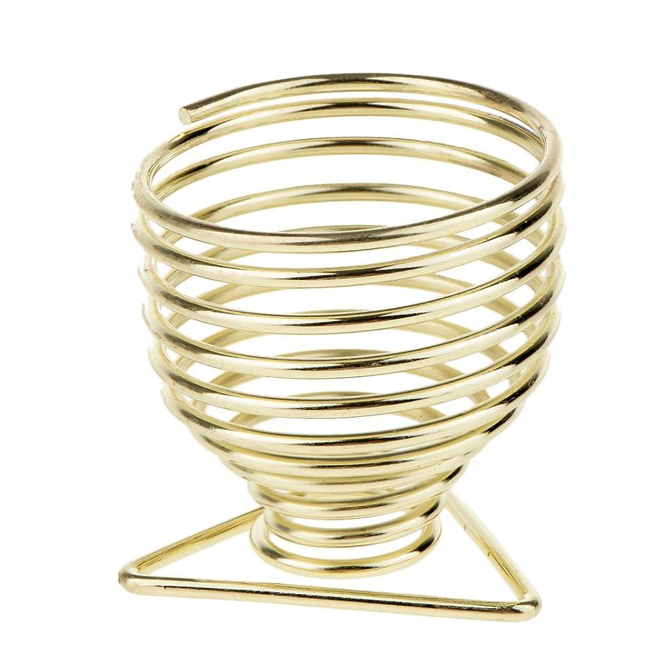 歴史矩形いじめっ子Blesiya メイクアップスポンジホルダー スポンジホルダー 化粧パフ ブレンダー 保存スタンド 乾燥スタンド 2色選べる - ゴールド