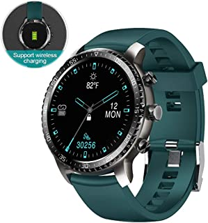 Tinwoo Smart Watch for Android / iOS Phones, Support Wireless Charging ,Bluetooth Health Tracker...
