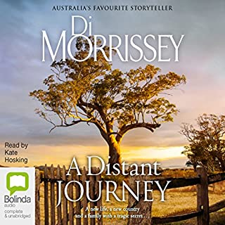 A Distant Journey audiobook cover art