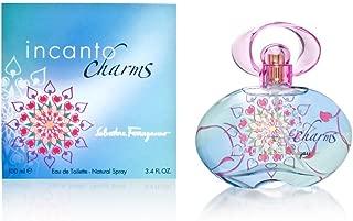 Incanto Charms By Salvatore Ferragamo For Women. Eau De Toilette Spray 3.4 OZ
